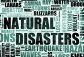 Consulting to manage risks associated with natural disasters